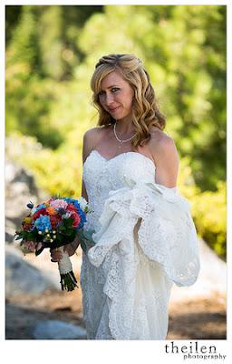 Jewel tone bridal bouquet l Kehlet Mansion l Meeks Bay Resort l Theilen Photography l Take the Cake Event Planning