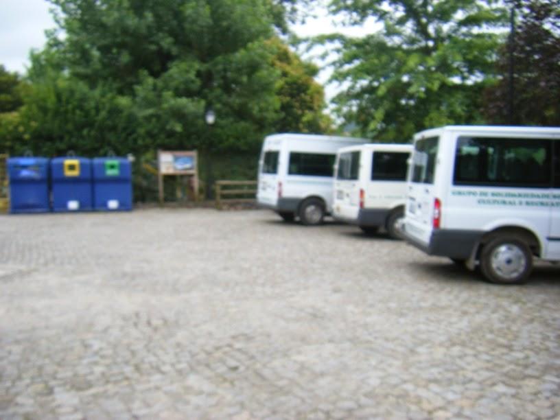 Zona de separação de residuos