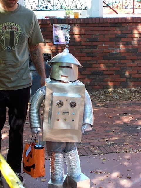 Kid Robot Halloween Costume