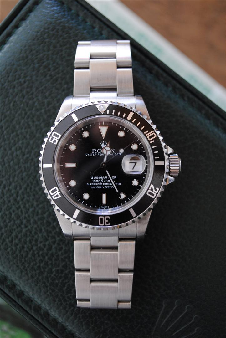 tree wise watches rolex submariner 16610. Black Bedroom Furniture Sets. Home Design Ideas