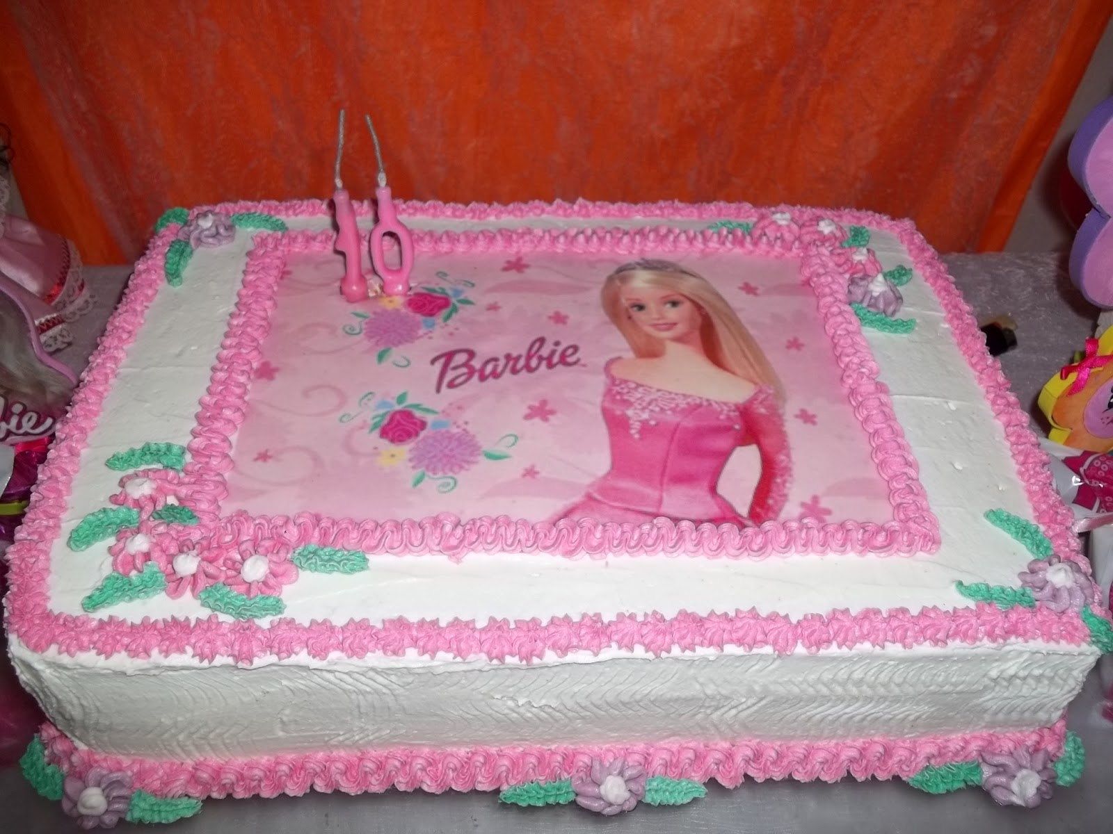 Bolo De Aniversario Da Barbie