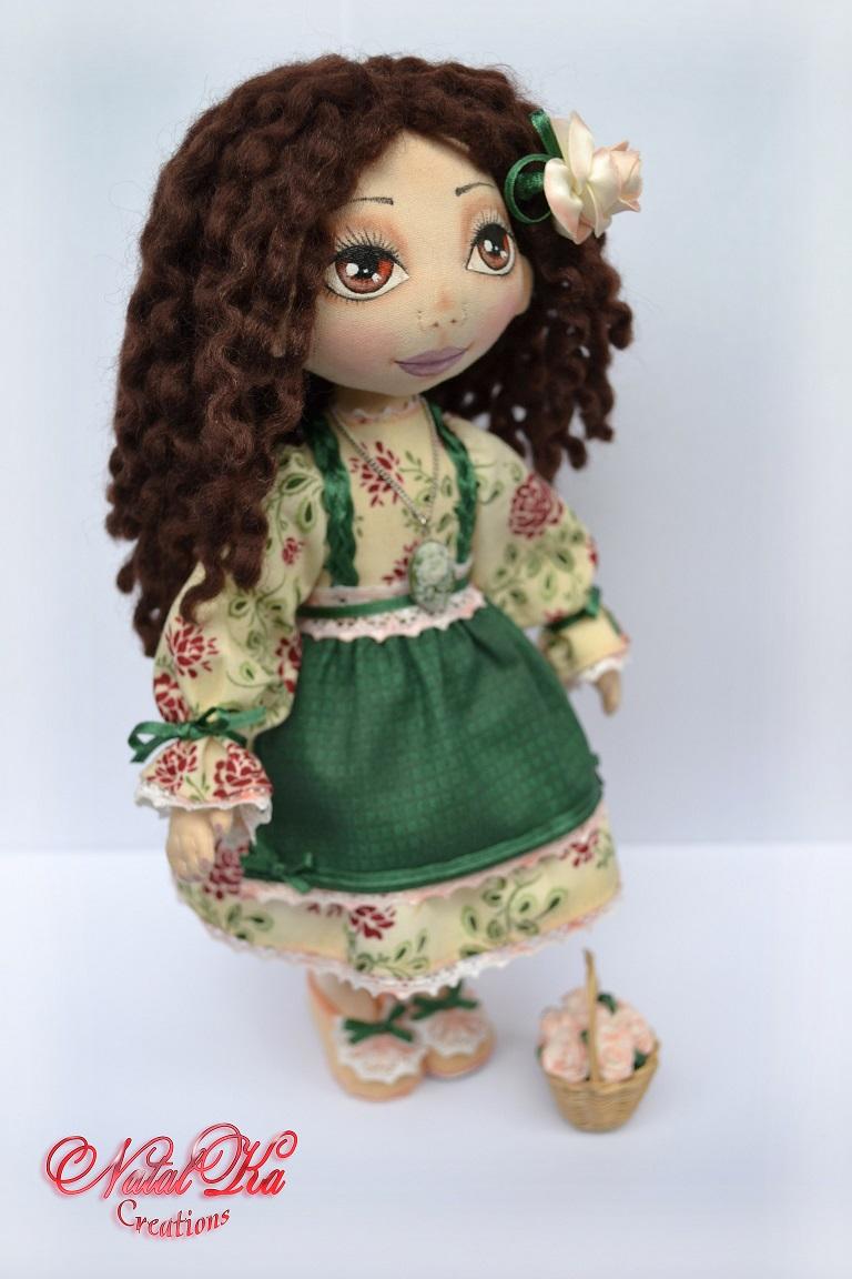 Ароматизированная текстильная кукла от NatalKa Creations