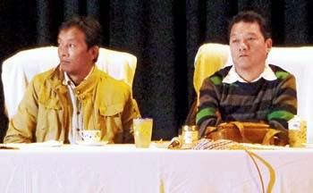 Bimal Gurung and Binay Tamang