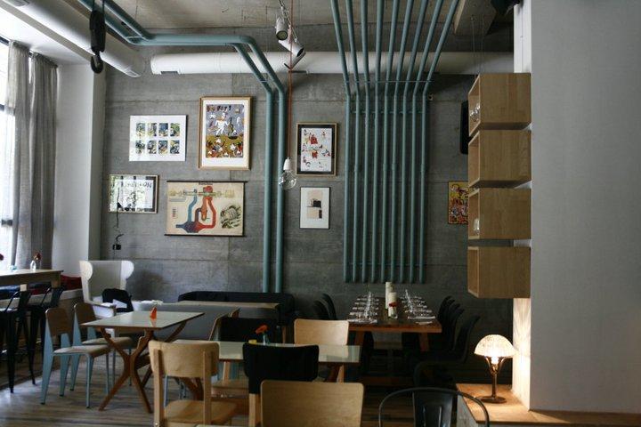 no end to design loft new american restaurant designed. Black Bedroom Furniture Sets. Home Design Ideas