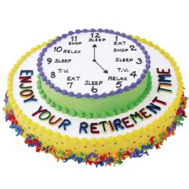 Beautiful Decorated Retirement Party Cakes and Graduation Big Cake ...