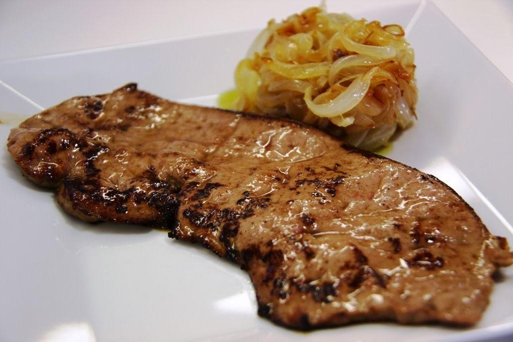 Recetas de cocina bistec de h gado encebollado for Cocinar higado