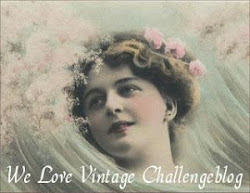 Logo We Love Vintage Challenge Blog