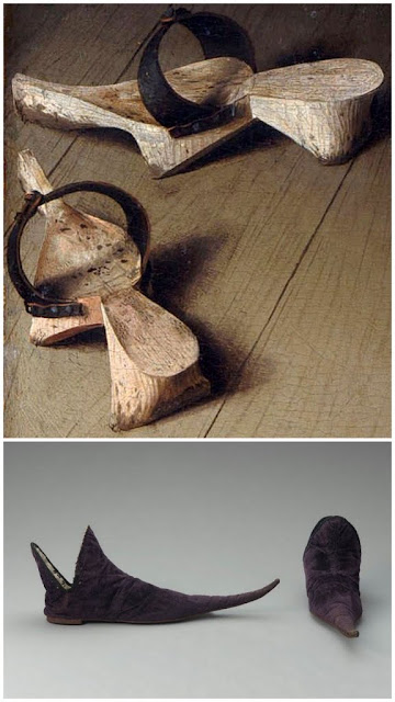 история обуви - занятие для детей