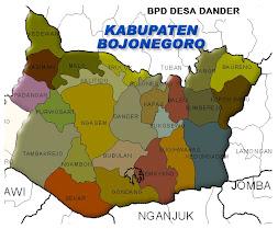 Peta Bojonegoro