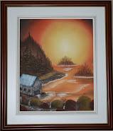 Peinture à l'huile - Séance Bob Ross