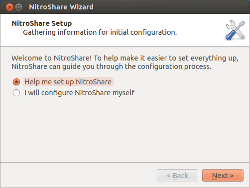 NitroShare for Linux 0.2 full