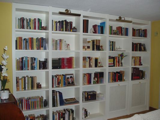Muebles a medida en madrid fabritecma - Librerias a medida en madrid ...