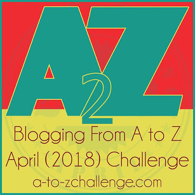 2018 A to Z Blogger Challenge