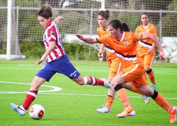 Atlético y Valencia femenino empatados a todo