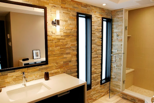 Bathroom wall design ideas