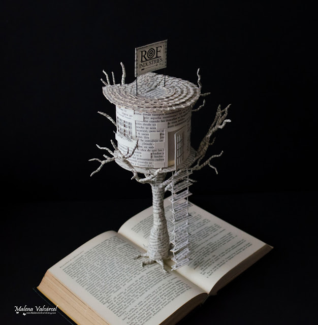 Book-Sculpture-Tree-House