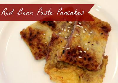 Marie's Pastiche: Recipe: Red Bean Paste Pancakes
