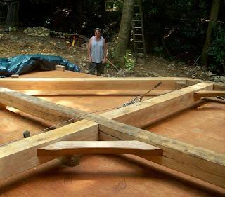 building the timber frame house pdf tedd benson