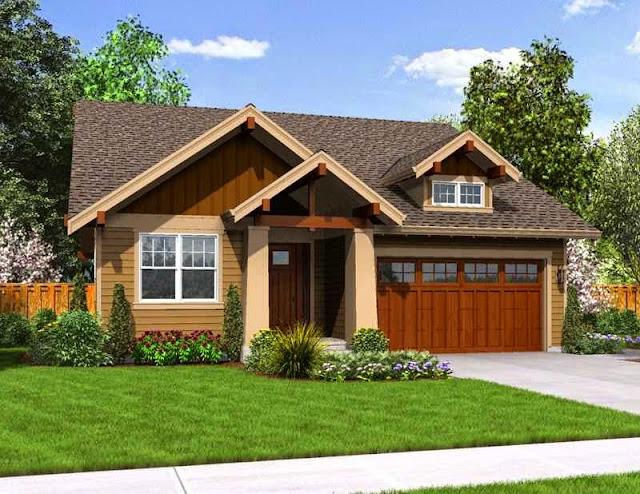 desain rumah pedesaan