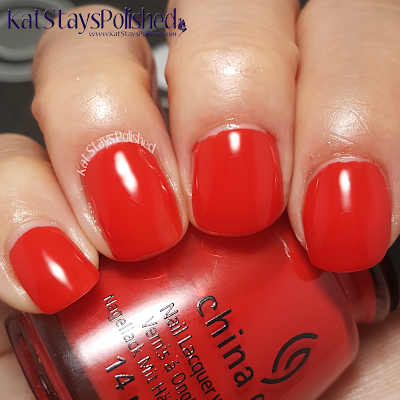 China Glaze - Desert Escape: The Heat Is On | Kat Stays Polished