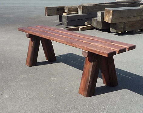 Actividades escolares bancos rusticos de madera muy for Bancos de madera para jardin baratos