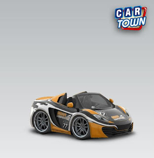 McLaren MP412C Spider 2013 Gear Competition