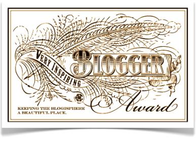 Premio Inspiring Blogger Award