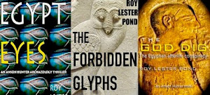 More Egypt thrillers in the Anson Hunter series
