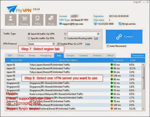 Le septième image de méthode d'utiliser le VPN gratuitement dans le système Windows.