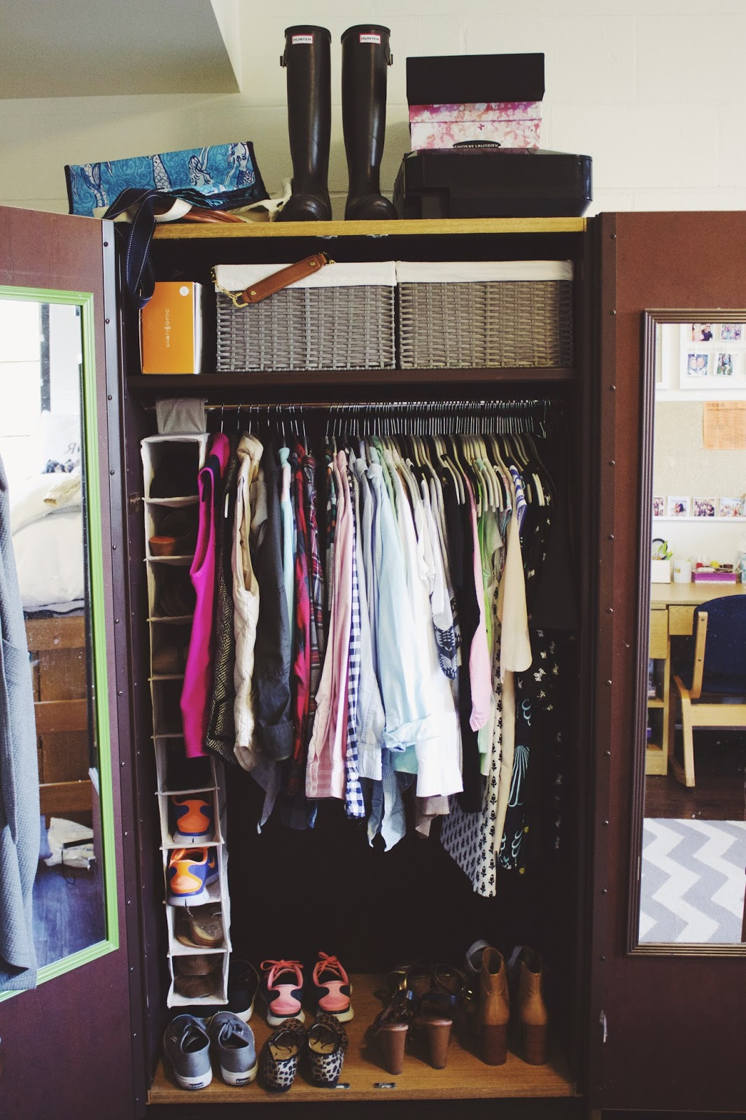 Decorating Ideas > Yep Its Prep My College Closet ~ 210625_Organizing Your Dorm Room Ideas