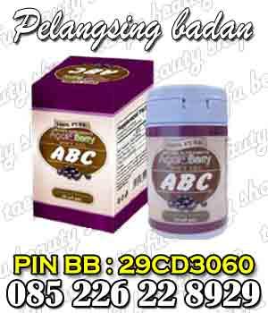 abc acai berry obat pelangsing badan herbal alami obat