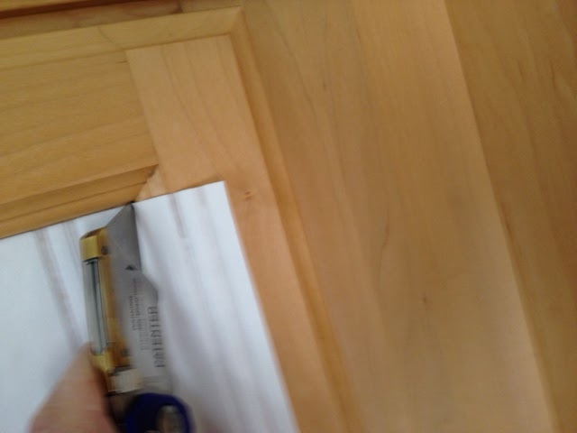 Weathered or Not: Kitchen Cabinet Makeover Tutorial