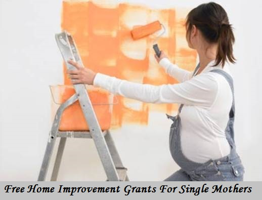 free home improvement grants for single mothers apply home
