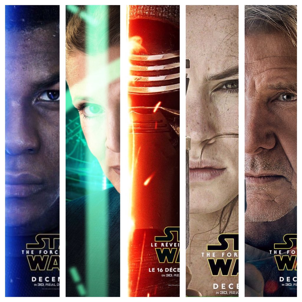 official character posters for 'the force awakens' revealed! | the