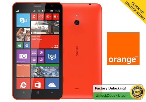 Factory Unlock Code for Lumia 1320