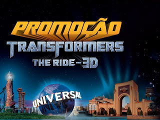 Promoção Transformers The Ride