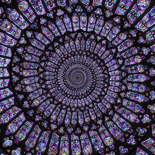 Nei vostri occhi e 39 riflessa la mia anima luglio 2015 - Finestre circolari delle chiese gotiche ...