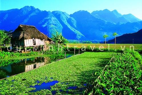 Cho thuê xe du lịch đi Thung Nai Mai Châu Hòa Bình 2