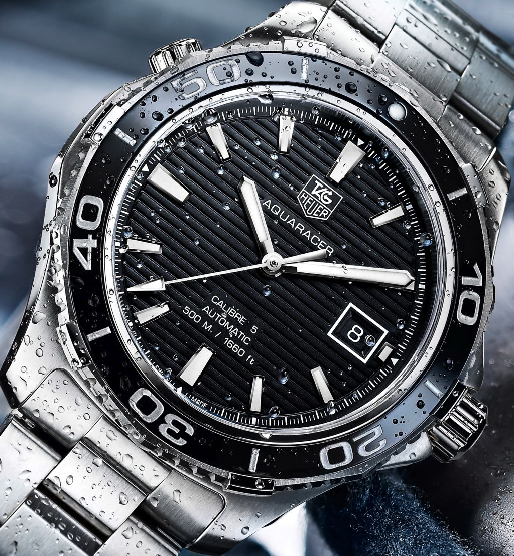Tag heuer 2012 aquaracer 500m ceramic ref wak2110 ba0830 time and watches for The tag heuer aquaracer