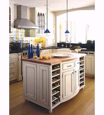 Island Kitchens on Portable Kitchen Islands   Kitchen Makeover Tips