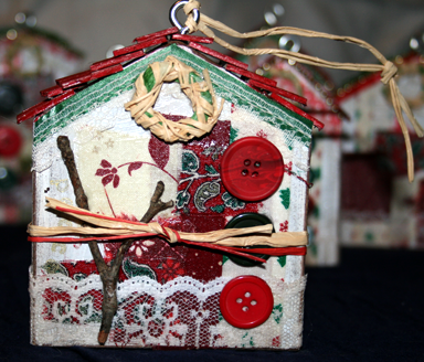House Ornament - Carol Marion