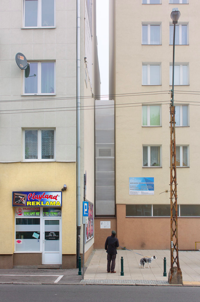 Possibly the smallest house in the world, in Warsaw by architect Jakub Szczesny