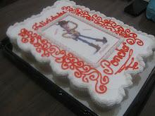 Pastel de cupcakes de Woody