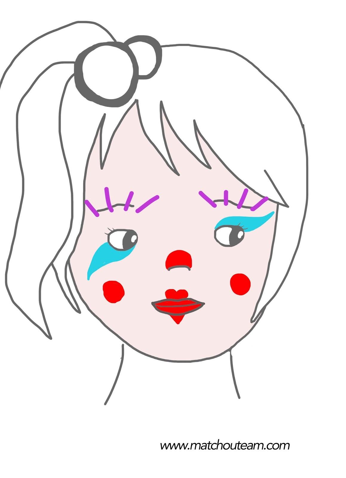 maquillage pierrot