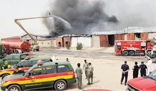 اكثر من 20 صورة و 3 مقاطع لتغطية حريق في منطقة صبحان 17-5-2012