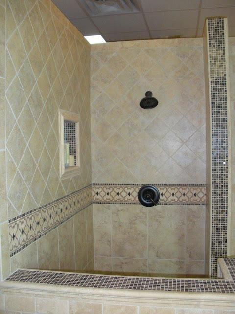 Ba o ducha estilo toscano cocinas y ba os reposteros encimeras pisos duchas - Banos y duchas ...