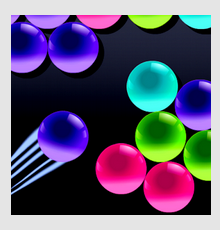 bubble shooter cyber