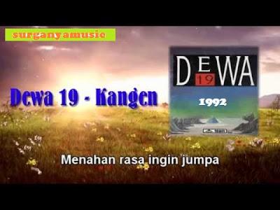Kumpulan Lagu Dewa 19 1992