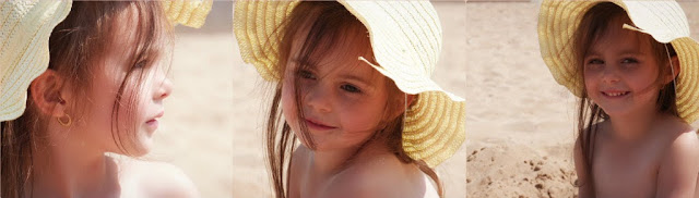 beach, sun hat, annalise, pretty