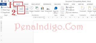 Cara Memasukan Gambar di Microsoft Word